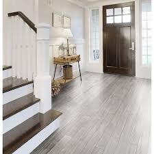 style selections eldon white wood look porcelain floor tile common 6 in x 24 in actual 23 62 in x 5 79 in home sweet home white wood