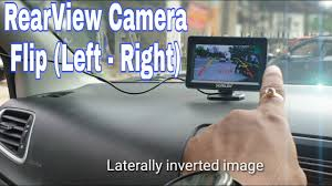 Rear view camera <b>image Flip</b>(left/right)| Laterally inverted | How to ...