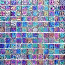 glass floor tiles. 1 SQ M Pearl Iridescent Dark Purple Glass Mosaic Wall Tiles Bathroom MT0042 Floor