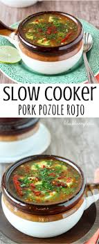 i love this slow cooker pork pozole pork hominy and broth simmer with es in the slow cooker yum