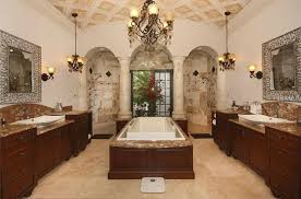 3 tags Traditional Master Bathroom with Master bathroom, Vessel Sink,  Complex granite counters, Wall sconce