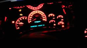 2005 Silverado 1500 red led conv. & gauges repair - YouTube