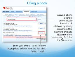 instructional guide how does easybib make research easier  11 easybib