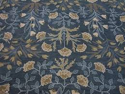 9 x 12 pottery barn adeline blue persian style new hand tufted wool rug