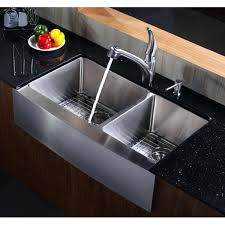 36 inch farmhouse sink stainless inch farmhouse a double bowl gauge stainless steel kitchen sink kraus