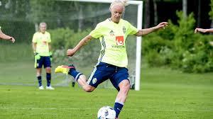 Caroline Seger osäker på <b>spel</b> - Sport | SVT.se
