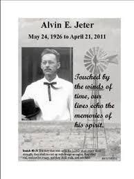 Alvin Jeter Obituary - Iowa Park, TX