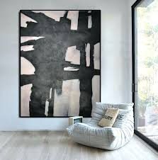 extra large wall art extra large abstract painting horizontal acrylic painting large wall art black white extra large wall art extra large wall decor  on extra large living room wall art with extra large wall art wall extra large wall art for living room