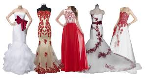 Top 10 Best Red White Wedding Dresses