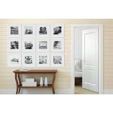 white collage picture frame set