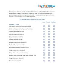 free home inspection checklist 20 printable home inspection checklists word pdf template lab