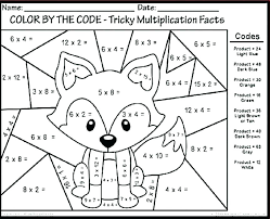 Free First Grade Math Coloring Pages Sheets For 6 Christmas 5th