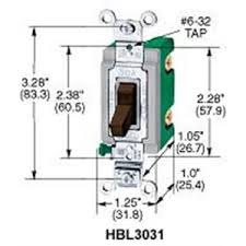 wiring a a double pole switch wiring image hubbell kellems hbl3032i double pole switch 30a 120 277vac on wiring a 30a double pole switch