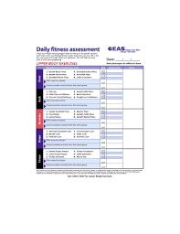28 Printable Workout Chart Forms And Templates Fillable