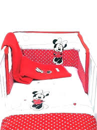 minnie mouse crib bedding set mouse baby bedding red and black mouse crib bedding mouse baby