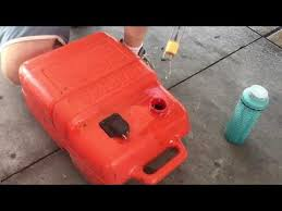 Evinrude 2 Stroke Oil Mix Chart 2 Stroke Diy Gas Oil Mix For Boat Motor Youtube