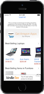 ad sample sample apps amazon apps services developer portal
