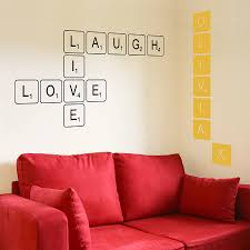 40 letter decals for wall home decor love wall art sticker wall