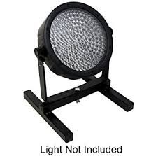 stand up lighting. led par can floor stand pro dj lighting h frame uplighting par38 par56 par64 light mount up