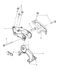 2008 chrysler town country engine mounting diagram i2188817