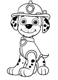 Paw Patrol Marshall Il Cane Pompiere Di Razza Dalmata