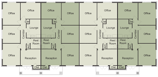 floor plan of the office. Floor Plan Of The Office. 4-unit Office