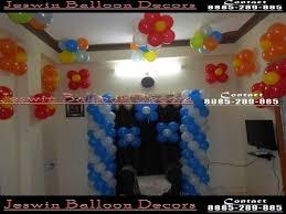 decoration hyderabad balloon birthday party home tierra este