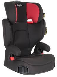 graco assure diablo child booster seat high back black forward