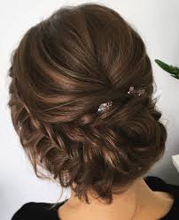 hairstyles for wedding. side braided updo wedding hairstyles Bridal updo hairstyle inspiration
