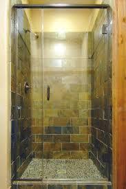 showers semi frameless shower door a d glass repair replacement enclosure installation cost
