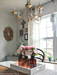 office in dining room. Pink Peony Centerpiece Office In Dining Room