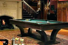 pool table rug rugs under size
