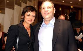 italian actress who accused harvey weinstein of rape leaves  asia argento and harvey weinstein during 2004 cannes film festival