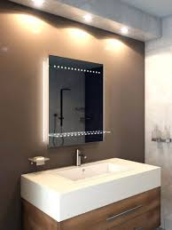 Bathrooms Design Wall Mounted Mirror White Bathroom Mirror With