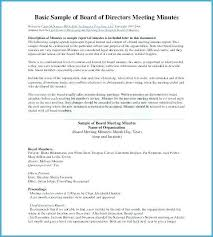 Office Meeting Minutes Llc Meeting Minutes Template