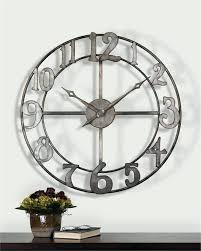 36 inch clock inch wall clock charming inch clock inch wall clock iron round clock white 36 inch clock