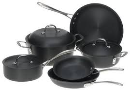 calphalon commercial hard anodized. Unique Commercial Calphalon Has Come Out With DS9DC Commercial 9Piece Hard Anodized Cookware   On