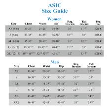 Asics Tights Size Chart