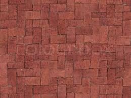 Es entsteht ein umwerfender look, der räume grundlegend neu erfindet. Nahtlos Fliesen Aus Rotem Backstein Stock Bild Colourbox