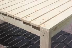 easy diy outdoor dining table. build patio table easy diy outdoor dining i