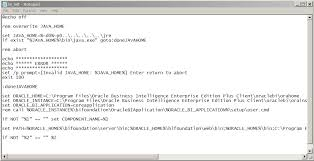 fixing the configuration error in the oracle bi obiee administration tool on 64 bit windows 7 obiee administration
