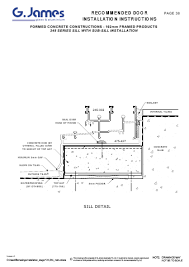 view formed concrete sliding instructions