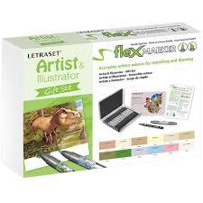Artist Illustrator Gift Set Flex Marker