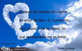 Mon Aphorisme Du Jour Lamour Lhomme Et Lavion De Ligne