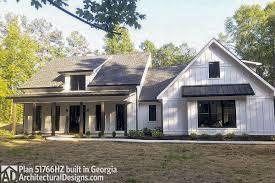Architectural Designs 51766hz Modern Farmhouse Plan 51766hz Comes To Life In Georgia