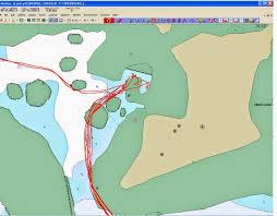 S V Momo Making Charts From Google Earth