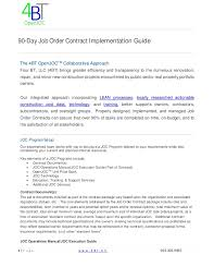 How To Price A Construction Job 90 Day Job Order Contract Implemenation Guide 2017 20170515