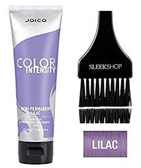 Joico Color Intensity Chart Joico Color Intensity Semi Permanent Creme Hair Color With Sleek Tint Brush Lilac