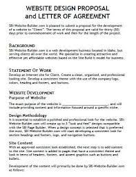 Website Proposal Letter Image Result For Website Proposal Table Of Content Website
