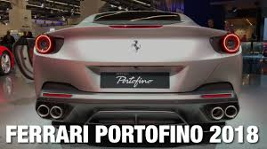 2018 ferrari colors. beautiful ferrari 2018 ferrari portofino review exterior interiod walkaround for ferrari colors
